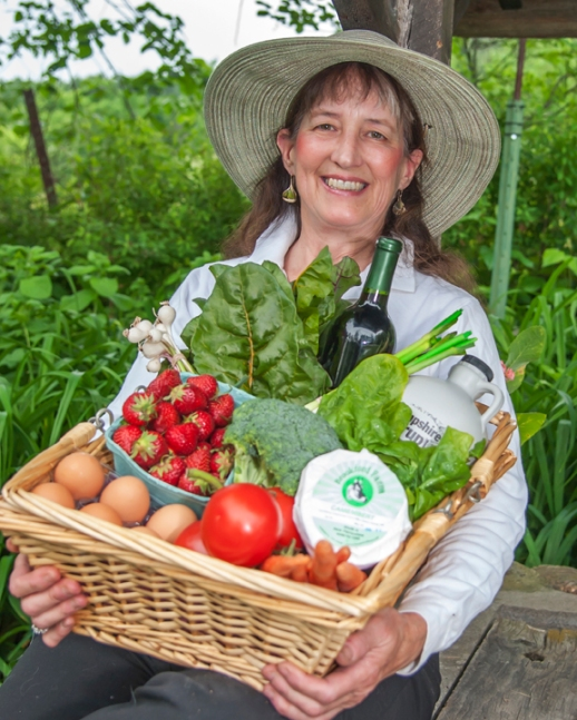 Joan O'Connor, Farmers' Marketeer (Photo Courtesy Mike Munhall)